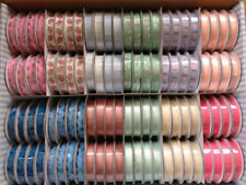 Single-Sided 1-5 Assorted Type Craft Ribbon