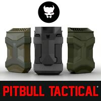 PITBULL UNIVERSAL MAG CARRIER GEN 2 Single or Double Stack Mag Pouch Asst Colors