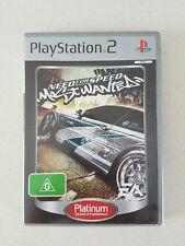 PS2 GAME - NEED FOR SPEED MOST WANTED - PLAYSTATION 2