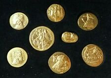 Greece Silver Restrike Of Ancient Greek Coins (Silver-Goldplated)