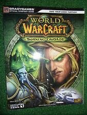 WORLD OF WARCRAFT THE BURNING CRUSADE BRADEYGAMES Official STRATEGY GUIDE PC MAC