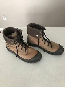 Mens Palladium Baggy Leather Boots, US 10