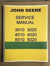 3010 John Deere Technical Service Shop Repair Manual Condensed Version