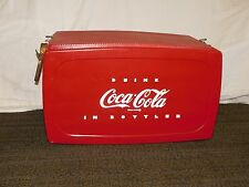 VINTAGE COKE DRINK COCA COLA IN BOTTLES  BEER SODA ICE PICNIC COOLER *REPAINTED