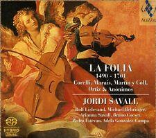 Jordi Savall - Folia 1490-1701 [New SACD] Hybrid SACD
