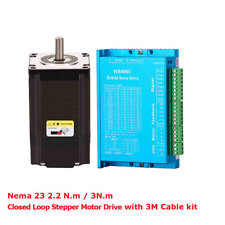 2 Phase Dc Step Motor For Cnc Closed Loop Drive Kit Hybird Easy Servo Driver 57m