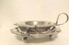 WMF Teesieb + Ablageschale Silber pl Set antik Tafelsilber Jugendstil Germany