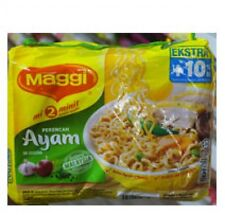 MAGGI RAMYUN 2 MINUTES INSTANT NOODLES CHICKEN MALAYSIAN RECIPE FREE SHIPPING