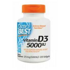 Vitamin D3 720 Softgels 5000 IU by Doctors Best