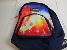 Jansport Trans Palm Trees USA Made Backpack  Book Bag