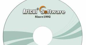 Artcut Software Vinyl Cutter Plotter 2009 Pro Sign Making - Create Refine Roland