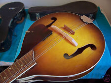1950's Vintage Harmony Monterey Mandolin paint pealing on sides  used cond.