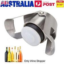 Reusable Stainless Steel Champagne Stopper Sparkling Wine Bottle Plug Sealer E2