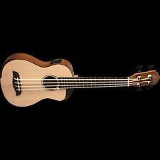 Oscar Schmidt OUB500K Comfort Series Spruce Top Koa Back & Sides Bass Ukulele