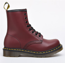 Unisex Dr Martens 8-Eye Classic Airwair 1460 Leather Canvas Ankle Boots