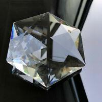 100mm Chandelier Lamp Pendant Glass Hexagram Crystal Decoration Prism Suncatcher