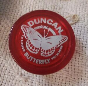 Duncan Butterfly Yoyo Made In USA