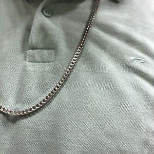 Franco Chain Men's chain sterling silver 925 Hallmark