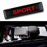 Deporte Interior Flexible Pegatina x1 Rojo Emblema para Toyota Honda Suzuki