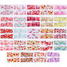 Nail Water Decals Stickers Kit Flower Dreamcatcher Nail Art Manicure Transfer
