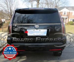 2007-2014 Cadillac Escalade License Plate Trim Backdrop Bezel Accent Cover