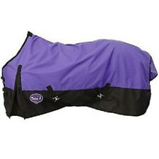 81 Purple Tough1 420 Nylon stable/turnout Closed Front Sheet. Horse