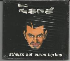 """MC Rene """"Scheiss auf euren Hip Hop"""" Digipack CD 2002 NEU & OVP"""