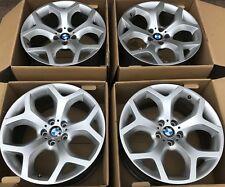 "Genuine BMW 20"" X5 X6 * Y SPOKES * E53 E70 E71 Wheels Rims - STAGGERED SET"