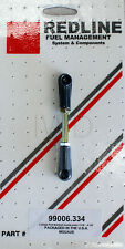 """Universal Throttle Linkage Rod - 4"""" w/plastic end for 8mm ball stud fits Weber"""