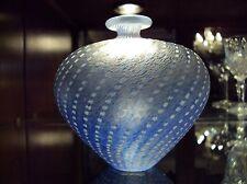 Kosta Boda Bertil Valien Artist Collection Minos Pale Blue Fine Sweedish Vase