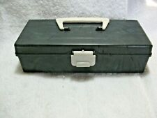 Rare Vintage SPORTS PAL Hi-Impact Polystyrene Tackle Box-Chicago 14,ILL-Fishing!