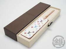 AUTH PRE-OWNED LOUIS VUITTON LV MULTI COLOR WHITE BOOKMARK NOVELTY M99196 153721
