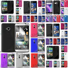 ETUI HOUSSES COQUE TPU SILICONE GEL S-LINE SERI HTC ONE DESIRE + FILMS + STYLET