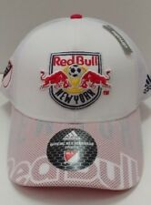 New York Red Bulls MLS adidas Climalite Authentic Team Adjustable Hat   Cap dc8acff9350f