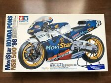 Tamiya 14072 Movistar Honda Pons NSR500 1998 1/12 Scale Race Bike Model Kit