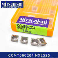10Pcs MITSUBISHI CCMT060204 NX2525 CCMT21.51 Original CNC Carbide inserts New