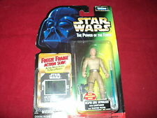 Star Wars - The power of the force - Bespin Luke Skywalker with saber & pistol