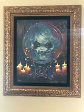 Madame Leota Canvas Painting by Jasmine Becket Griffith