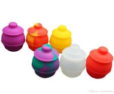 """2.4"""" NoGoo Silicone Jar - Honey Pot (random color sent) I do accept request"""