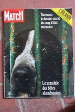 21 aout 1971 Paris match 1163 bardot cardinale belfast irlande maroc chiens
