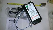 ENGAGER LED TOP Load Trailer Electric Break Away Brake Kit 12V Battery Breakaway