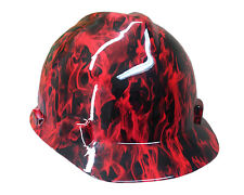 Red Fire MSA V-GUARD Cap Hard Hat