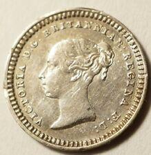 GRANDE-BRETAGNE : ASSEZ RARE 1 1/2 PENCE ARGENT 1838