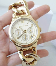 Michael Kors Runway Twist Gold-tone Ladies Watch