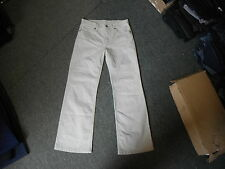 """Marks & Spencer Bootcut Jeans Size 10 Leg 28"""" Faded Light Beige Ladies Jeans"""