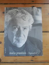 MARIO PRASSINOS. tapisseries. catalogue de vente. Limoges 1999