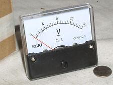 12v 16v Dc 12 16 V Volt Large Scale Analog Panel Meter Rv Car Battery Voltmeter