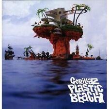 """Gorillaz PLASTIC BEACH"" 2 LP VINILE NUOVO"