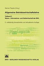 Buch Allgemeine Betriebswirtschaftslehre Teil 2