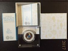 PETER RABBIT 2017 SILVER PROOF 50p - EXTREMELY RARE - PRICES INCREASING